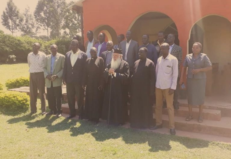 Συναντήθηκε με Ιερείς της Κένυας ο Μητροπολίτης Ναϊρόμπι