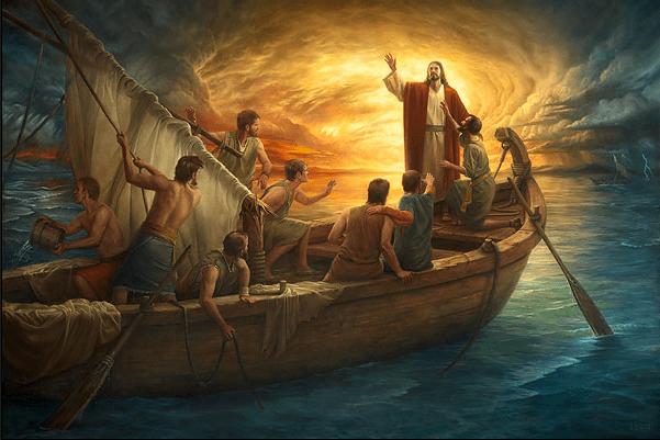 Κύριε, μην αφήσεις τη βάρκα μου να τσακιστεί…
