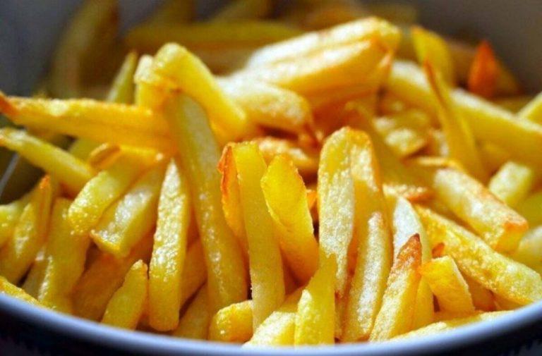 Τραγανές πατάτες χωρίς λάδι!