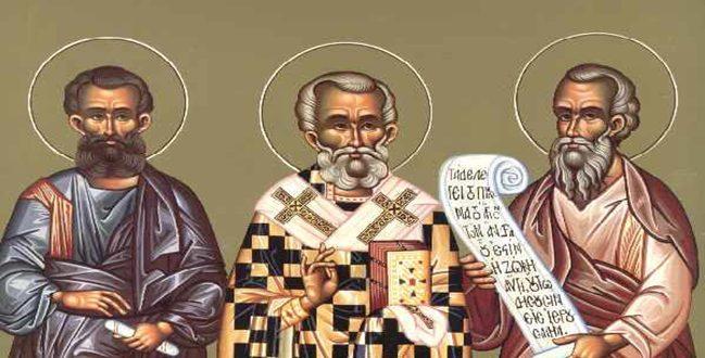 Απόστολοι Άγιοι πρεσβεύσατε τω ελεήμονι Θεώ (ΑΠΟΛΥΤΙΚΙΟ)