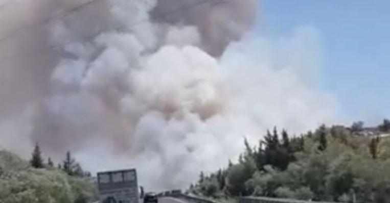 Σε συναγερμό οι Αρχές στην Κύπρο, έκλεισε ο αυτοκινητόδρομος